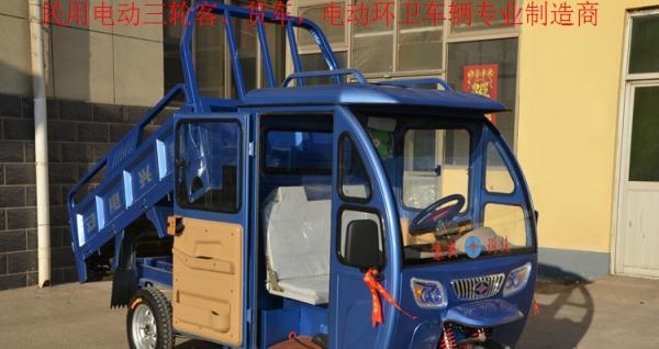 德利泰牌自卸电动三轮环卫保洁车量大从优
