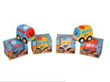 智乐玩具赠品卡通回力实色公交车(1只庄)