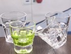 玻璃水杯供应商批发丨热销钢化玻璃八角杯水杯