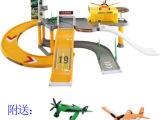厂家直销 正版飞机汽车总动员 欢乐过家家停车场玩具 T002批发