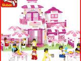 快乐小鲁班女孩拼装玩具0150粉色梦想浪
