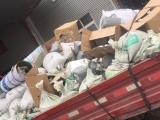 青岛城阳装修垃圾清运,工厂废料处理,废旧家俱清运拉木头