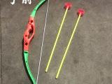 地摊热卖儿童仿真玩具弓箭 塑料软弹箭2个