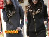 丹尼度 韩国女式套装女孩批发 女装外套 外贸长款女士卫衣绒衫