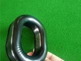 定做TPU热压吸塑成型航空耳机套 高周波一次成型耳套头条生产