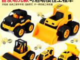 淘宝热销趣味玩具模型车 惯性车玩具工程车5款可选