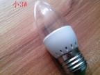 LED小2W球泡蜡烛灯成品 LED小夜灯