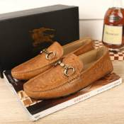 厂家直销 欧洲站大牌流行男鞋透气韩版驾车休闲鞋微信一件代发