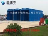 南京玄武区订做建筑工地雨棚物流专用雨棚钢结构雨蓬开门雨蓬