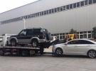 蓝牌黄牌平板高速拖车 一拖二清障车道路救援车2年0.3万公里8.6万