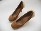 最新真皮羊皮单鞋 超美小辣椒女鞋 高跟单鞋 真皮女单鞋加工