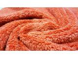双面舒棉绒 涤纶毛绒 素色棉花绒 两面穿厚实秋冬