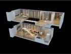地铁口精装修挑高5.6米复式租金6500急售送家具家电送车位盛业