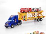 天天特价儿童玩具车惯性车 滑行工程车玩具益智车拖头车厂家直销