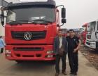 湖南长沙挖机平板车 40吨勾机拖板车 350大马力平板运输车