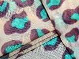 厂家销售批发网布面料 内衣文胸比位用六角形网布