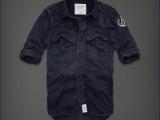 2013秋冬装新款 纯棉长袖衬衫男式衬衫韩版AF衬衫厂家直销