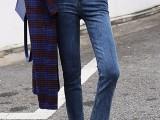 地摊服装尾货牛仔裤 大码外贸女式牛仔裤尾货服装批发