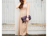 现货2015夏季新款 波西米亚显瘦长裙 partysu莫代尔沙滩