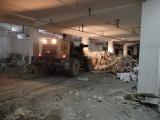 成都双流专业拆除打墙建渣清运开荒保洁自配自卸车