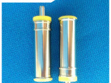 6.0X1.0X25L内针式半绝缘环黄色(黑色)(DC电源充电插