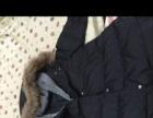 韩版a字羽绒棉服