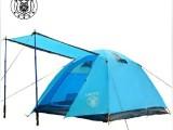 帐篷工厂 供应3-4人帐篷批发兼零售 铝杆帐篷 户外野营帐篷 露