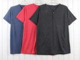 1879# 供应外贸库存服装 外贸 男式速干T恤 短袖T恤