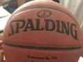 处理篮球斯伯丁一个