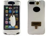 SHOWKOO iPhone5S 5C纯牛皮皮套 手机壳 男女生