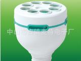 厂家供应节能灯塑料配件PBT/PP 17管径88外径E40灯头