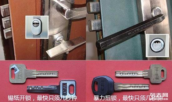 十年没换锁芯的防盗门等于没锁/郑州防盗门换锁芯