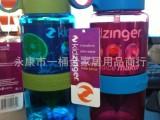 现货韩国kidzinger儿童柠檬榨汁杯吸管杯子喝水神器一件代发