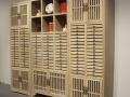 普洱茶饼架实木多层收纳柜客厅小展示柜