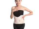 批发冬款超强女士收腹带塑身产后束腰带瘦腰带产后束缚带LD003