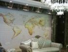 手绘墙体彩绘涂鸦3D立体画壁画室内外装修墙绘