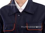 厂家 供应 工装 女士 涤棉吸湿排汗夹克 工作服 套装 批发定制