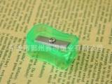 现货淘宝热卖手动塑料圆八角铅笔削笔刀 日韩国学生铅笔刀批发