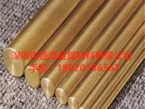 供应广东H59无铅黄铜棒 H62铆料黄铜方棒 价格