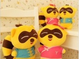 【特价直销】创意玩偶YY熊歪歪熊公仔 毛绒玩具熊生日礼物送女生