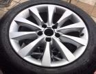 12款奥迪A6L原厂轮毂+2016米其林轮胎