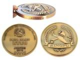 深圳纪念币厂定制 纯铜复古纪念币 企业上市纪念币 烤漆纪念币
