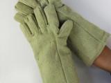 650度耐高温手套卡斯顿加厚耐磨隔热手套单晶硅炉