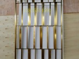 伟天盛现代屏风不锈钢香槟金色 大户型客厅屏风隔断餐厅屏风