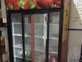 9.5成新超市二手冰柜 饭店冷藏柜转让