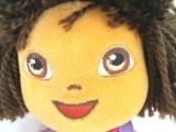广州龙郡发朵拉姐姐毛绒玩具定制
