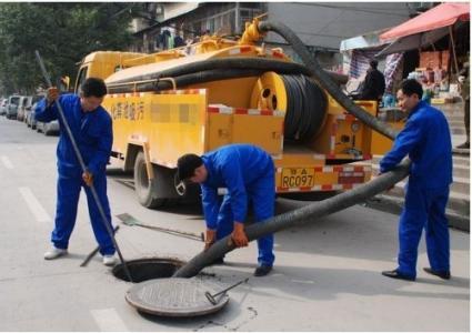 清理化粪池 隔油池 污水渠,管道安装与疏通