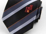深圳企业领带定制-公司活动领带订做-形象领带标志领带订制