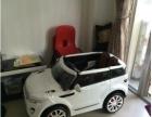 全新可坐的路虎儿童电动车,宝贝质量很好