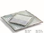 三分烧方盘寿司盘料理日韩式创意陶瓷和风菜盘正方盘托盘批发R154